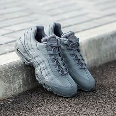 42b4a7537484 Nike Air Max 95 Essential  Cool Grey More Nike Outlet