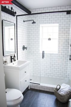 Small Showers, Glass Showers, Bathroom Renovations, Bathroom Makeovers, Remodel Bathroom, Restroom Remodel, Tub Remodel, Decorating Bathrooms, Small Shower Remodel