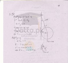 1st Year Physics Solved Numericals Chapter 2 Vectors and