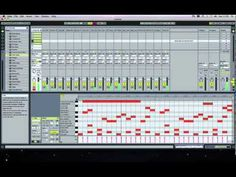 Minimal Techno Groove Example Ableton Live Single Drum Rack - YouTube