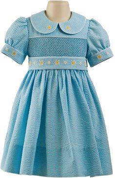 Hand Smocked Dress - Abby