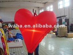 inflatable heart for decoration