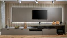 Living Room Wall Units, Living Room Tv Unit Designs, Living Room Decor, Tv Cabinet Design, Tv Wall Design, Colourful Living Room, Elegant Living Room, Modern Tv Room, Interior Simple