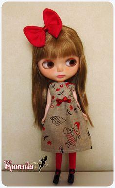 Dress for Dolls By Kaanda  $15