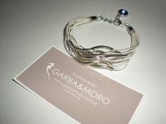 white VIENTO bracelet  http://www.etsy.com/shop/GARBAMORO