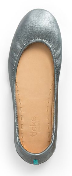 Striking, Metallic Pewter Tieks are the perfect pair to keep your feet cute and comfortable for work and play.