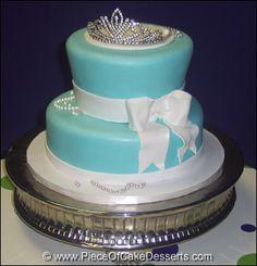 tiffany and co cakes Tiffany and Co Birthday Cake Tiffany Co