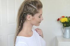 How to create this cornrow inspired look with Fashion Influx | Advertise...