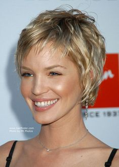 Short layered hairstyle                                                                                                                                                                                 More
