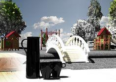 Rendering 3Ds max park
