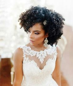 140 Best Natural Hair Brides Images Natural Hair Styles Wedding