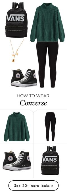 """Kehlani Valore Sadler"" by teen-polyvore on Polyvore featuring Converse and Vans"