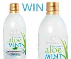 Bottles of Biogenic *Competition closes Jan Best Natural Skin Care, Clear Skin, Aloe, Fitness Inspiration, Health Fitness, Mint, Beauty, Competition, Juice
