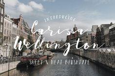 Carissa Wellington by KlapauciusCo on @creativemarket