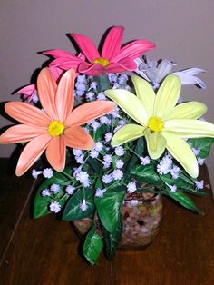 Bright Mother's day balloon fantasy flowers