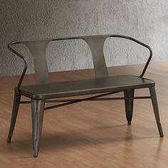 bank 3 4 sitzer von rheintisch auf etsy ladeneinrichtung industrial style st hle hocker. Black Bedroom Furniture Sets. Home Design Ideas