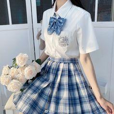 Fashion Models, Girl Fashion, Fashion Outfits, Lolita Dress, I Dress, School Dresses, Fashion Design Sketches, Korean Street Fashion, School Fashion