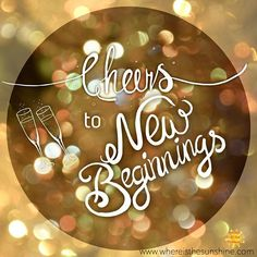 Everyday is a chance to begin anew! Here's to a wonderful 2017!!! #mentalhealth #mentalillness #mentalhealthadvocacy #mentalhealthmatters #mentalhealthawareness #depression #stress #recovery #anxiety #ocd #ptsd #bipolar #bipolar2 #postpartum #schizophrenia #selfcare #suicide #support #love #teen #heal #hope #survivor #newyeareve  #newyear #Hello2017 #inspiration #motivation #whereisthesunshine🔆