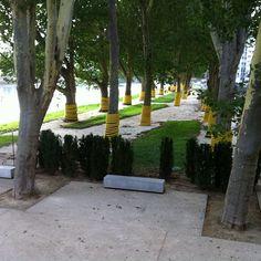 Le parc de l'écluse sera bientôt ouvert au public.