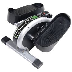The inMotion Elliptical Trainer is awesome for small spaces.