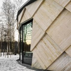Tengbom's+completes+pine+cone-inspired+trail+centre+in+a+Swedish+nature+reserve