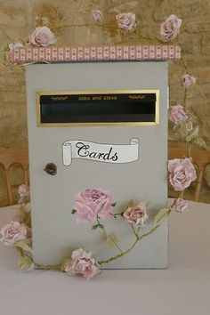Shabby Chic/Vintage Wedding Postbox | eBay Wedding Post Box, April Wedding, Wedding Hire, Card Box Wedding, Our Wedding, Wedding Planning, Wedding Stuff, Engagement Decorations, Wedding Venue Decorations
