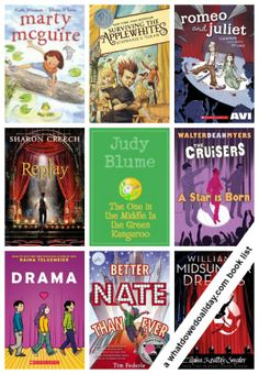 14 chapter books about THEATER! Love these titles. Click through to see all the books.