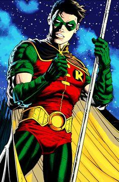 Tim Drake, Robin in Supergirl Robin Superhero, Batman Robin, Gotham Batman, Superman, Tim Drake Red Robin, Robin Dc, Arte Dc Comics, Dc Comics Art, Robin Cosplay