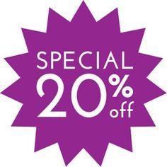 New Year Celebration Sale 20% all Items by GabrielasHandiwork