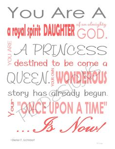 One of the things Ive learned is to be sure to give her the respect she is due as a daughter of God