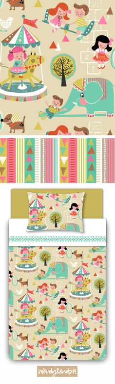 wendy kendall designs – freelance surface pattern designer » lets play