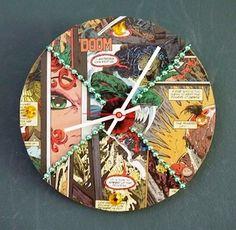 Welches - comic book clock
