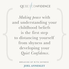 15 Quotes From Quiet Confidence: Breaking Up With Shyness - Quietly Successful: Unlock The Authentic Leader Within Quiet Confidence, Success Coach, Hypnotherapy, Life Coaching, Sydney Australia, Understanding Yourself, First Step, Breakup, Clinic