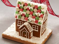 Gingerbread House recipe  via Food Network
