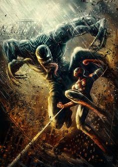 Spider-Man vs. Venom - Patricio Clarey
