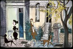 One Hundred And One Dalmatians (1961) | 50 Beautiful Pieces Of Concept Art From Classic Disney Movies