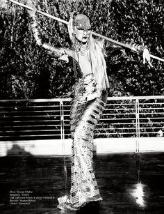 Crystal Renn in 'Champion' Photographed by Ellen Von Unwerth, Styled by Brett Bailey, Makeup by Dawn Broussard for Schön! Magazine Issue 17