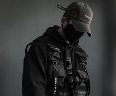 Mens Fashion – Designer Fashion Tips Street Goth, Street Wear, Street Style, Dark Fashion, Boy Fashion, Mens Fashion, Steampunk Fashion, Gothic Fashion, Cyberpunk Fashion