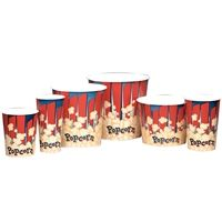 Picture of New Pattern Popcorn Cups