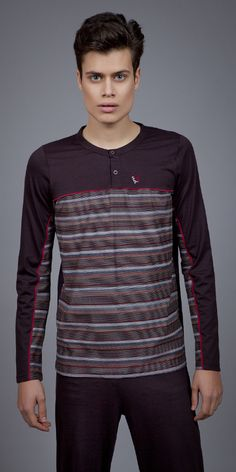 Men's Pyjamas Jersey 1709 | Pyjamas| Vamp! Pyjamas, Fashion Outfits, Luxury, Long Sleeve, Clothing, Sleeves, Mens Tops, T Shirt, Collection