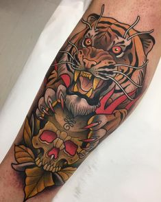 Neo Traditional Tattoo http://www.retroj.am/traditional-tattoos/
