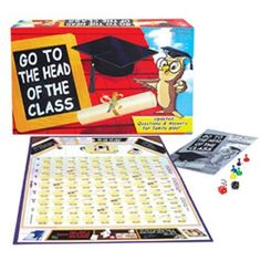Go To The Head Of The Class Board Game