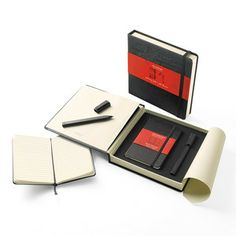MoleSkin Gift Box Writing Set, $27, now featured on Fab.