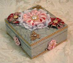 Decorative Trinket Box by ForKeepsakesGifts on Etsy