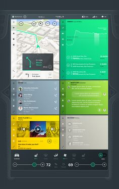 Tesla Interface Concept on Behance