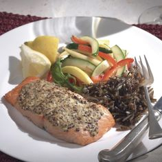 This updated French bistro dish makes a simple dinner any night of the week. You might want to consider doubling the batch and using the remaining salmon in a tossed salad the next day.