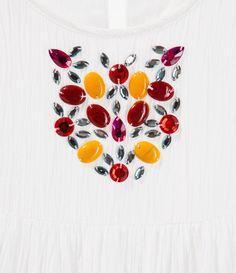 Image 3 de robe avec appliques de Zara
