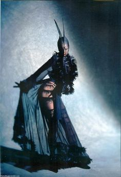 """Thierry Mugler SS 1997 """"les Insectes""""; corset by Mr. Pearl"""