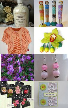 Summer Colors by Susan Burnett on Etsy--Pinned with TreasuryPin.com