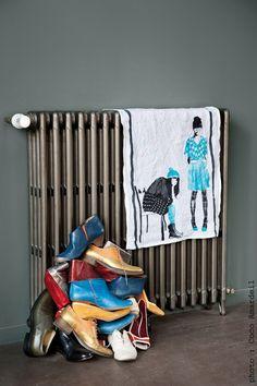 Torchon / Tea towel Twin - © la cerise sur le gâteau - Anne Hubert - photo: Coco Amardeil